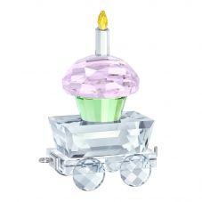 Swarovski Cupcake Wagon Figurine 5377674