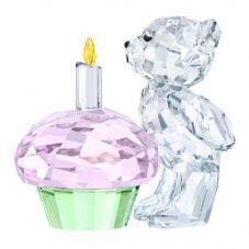 Swarovski Kris Bear Time To Celebrate Figurine 5301570