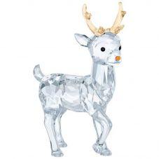 Swarovski Santas Reindeer Figurine 5400072