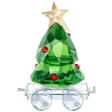 Swarovski Christmas Tree Wagon Figurine 5399977