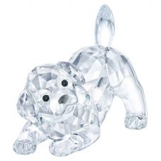 Swarovski Labrador Puppy Playing Figurine 5408608