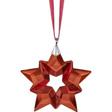Swarovski Christmas Red Star A.E 2019 Small Ornament  5524180