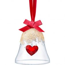 Swarovski Christmas Bell Heart Ornament 5464881