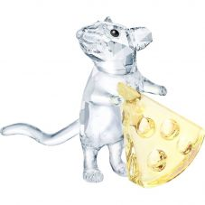 Swarovski Mouse With Cheese Figurine 5464939