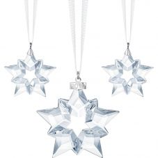Swarovski Christmas Ornament Set 2019 5429600