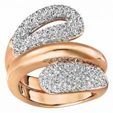 Swarovski Every Rose Gold Tone Ring