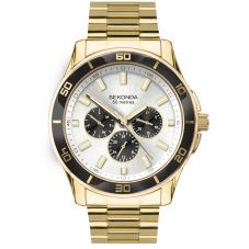 Sekonda Gold Multi-Function Bracelet Watch 1646
