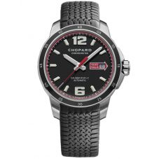 Chopard Mille Miglia GTS Automatic Black Chronometer Watch 168565-3001