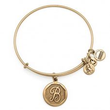 ALEX AND ANI Initial 'B' Charm Bangle A13EB14BG
