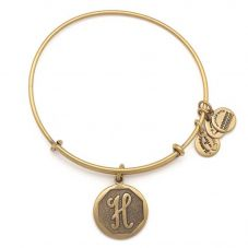 ALEX AND ANI Initial 'H' Charm Bangle A13EB14HG