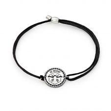 ALEX AND ANI Kindred Cord Be Patient Bracelet A17KC11S