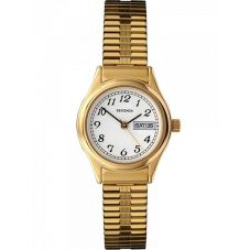 Sekonda Ladies Gold Plated Expandable Watch 4924