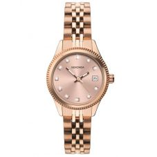 Sekonda Ladies Serenity Rose Gold Plated Classic Bracelet Watch 2764