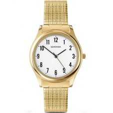 Sekonda Mens Gold Plated Bracelet Watch 3752