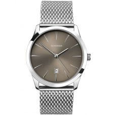 Sekonda Mens Mesh Grey Watch 1587