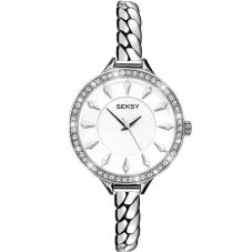 Seksy Ladies Silver Embrace Bracelet Watch 2070