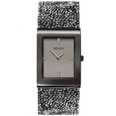 Sekonda Seksy Rocks Ladies Grey Swarovski Crystal Watch 2654