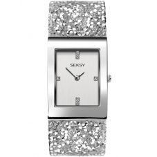 Sekonda Seksy Rocks Rhodium Plated Bracelet Watch 2652