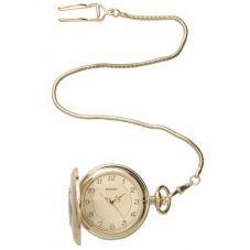 Sekonda Mens Gold Half Hunter Pocket Watch 3469