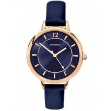 Sekonda Ladies Editions Blue Strap Watch 2136