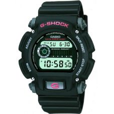 Casio G-Shock Classic Digital Black Plastic Strap Watch DW-9052-1VER