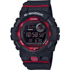 Casio G-Shock G-Squad Digital Limited Edition Red Plastic Strap Smartwatch GBD-800-1ER