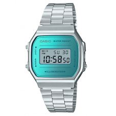 Casio CASIO Collection Retro Digital Steel Bracelet Watch A168WEM-2EF