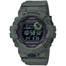 Casio G-Shock Sports Digital Chronograph Green Plastic Strap Watch GBD-800UC-3ER