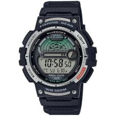 Casio CASIO Collection Fishing Gear Digital Plastic Strap Watch WS-1200H-1AVEF