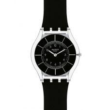 Swatch Unisex Black Classiness Watch SFK361