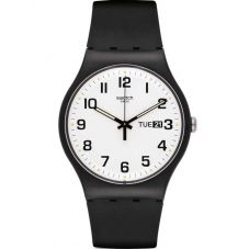 Swatch Unisex Twice Again Strap Watch SUOB705