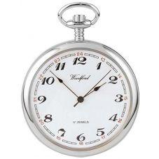 Woodford Mens Open Case Pocket Watch 1023
