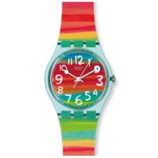Swatch Unisex Colour The Sky Watch GS124