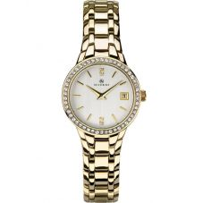 Accurist Ladies Gold Tone Bracelet Watch 8178