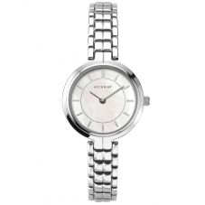 Accurist Ladies Classic Mother Of Pearl Dial Stainless Steel Bracelet Watch 8300