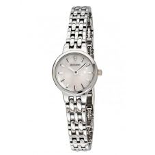 Accurist Ladies Mother Of Pearl Dial Stainless Steel Bracelet Dress Watch LB1407P.00
