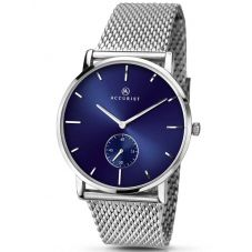 Accurist Mens Mesh Bracelet Watch 7126