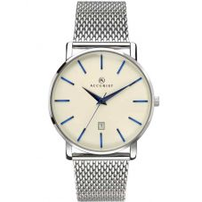 Accurist Mens Silver London Watch 7171