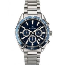 Accurist Mens Signature Blue Chronograph Watch 7230