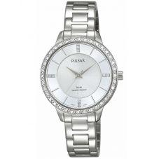 Pulsar Ladies Stone Set Bracelet Watch PH8213X1