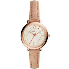 Fossil Ladies Jacqueline Cream Watch ES3802