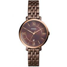 Fossil Ladies Jacqueline Brown Bracelet Watch ES4275