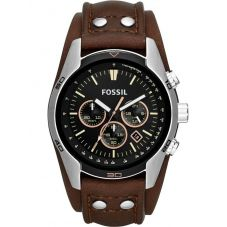 Fossil Mens Coachman Chronograph Cuff Watch CH2891