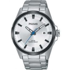 Pulsar Mens Two Colour Sports Watch PS9511X1