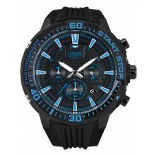 Pulsar Mens Sport Chronograph Strap Watch PT3507X1