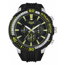 Pulsar Mens Sport Chronograph Strap Watch PT3503X1