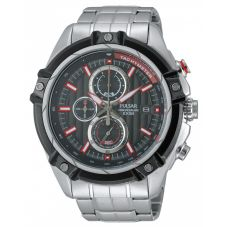 Pulsar Mens Sport Chronograph Bracelet Watch PV6001X1