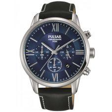 Pulsar Mens Chronograph Strap Watch PT3809X1