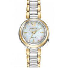 Citizen Ladies CITIZEN L Sunrise Two Tone Bracelet Watch EM0337-56D