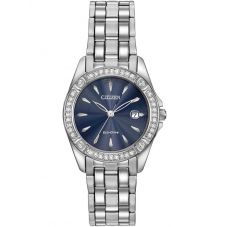 Citizen Ladies Silhouette Crystal Bracelet Watch EW2350-54L